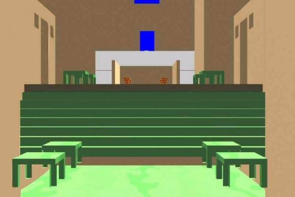 V20- The Inner Courtyard- Tables